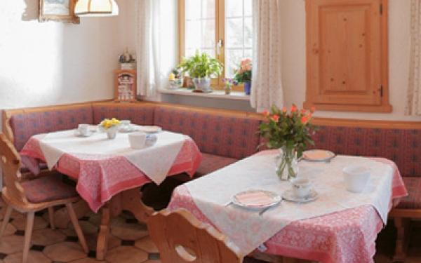 Bild-Frühstücksraum